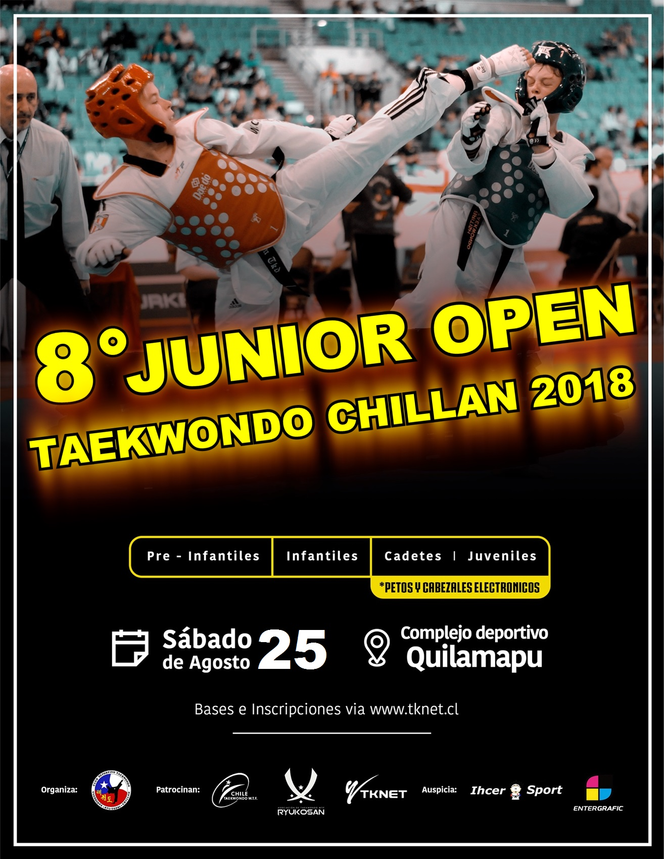 8° JUNIOR OPEN TAEKWONDO CHILLAN 2018